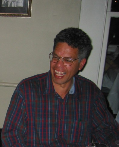 Jeff Johnson at the ACM CHI Conference on Human Factors in Computing Systems in Ft. Lauderdale, FL on April 9, 2003.